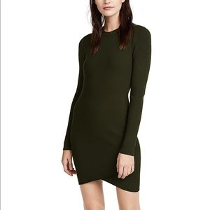 A.L.C Lara dress seaweed